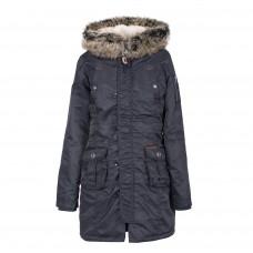 Жіноча зимова парка Alpine Crown AC-170214 темно-синя