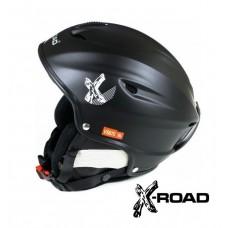 Шолом гірськолижний X-ROAD Black
