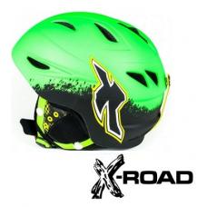 Шолом гірськолижний X-ROAD Green